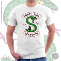 Southside Serpents T Shirt, Unisex White T Shirt