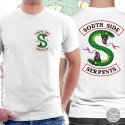 Southside Serpents T Shirt, Unisex White T Shirt, 2S