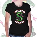 Southside Serpents T Shirt, Womens Black T Shirt