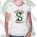 Southside Serpents T Shirt, Womens White T Shirt