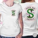 Southside Serpents T Shirt, Womens White T Shirt, 2S