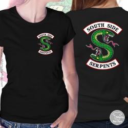 Southside Serpents T Shirt, Womens Black T Shirt, 2S