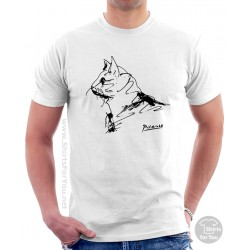 Cat Pablo Picasso T Shirt