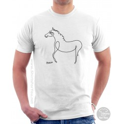 Horse II Pablo Picasso T Shirt