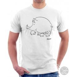 Pig Family Pablo Picasso T Shirt