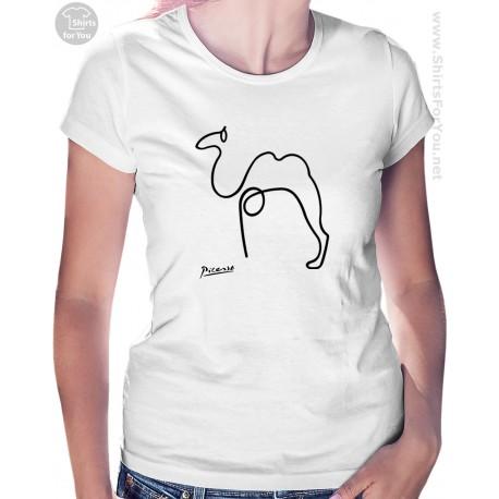 Camel Pablo Picasso Womens T Shirt