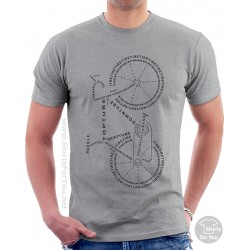Bicycle Anatomy T Shirt