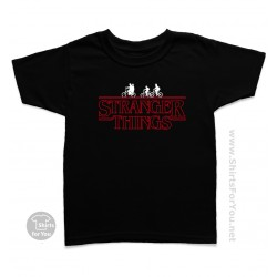 Stranger Things Kids T Shirt, Bikes