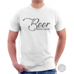 Beer Power User Shirt