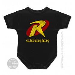 Robin Sidekick Baby Onesie