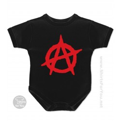 Anarchy Baby Onesie