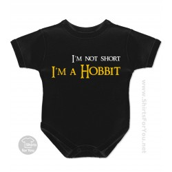 I'm not Short, I'm a Hobbit Baby Onesie
