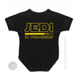 Jedi in Progress Baby Onesie
