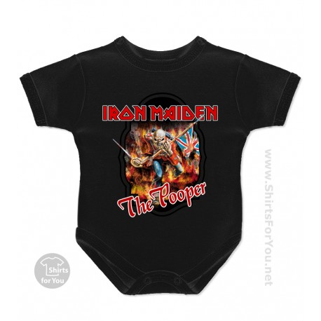 Iron Maiden The Pooper Baby Onesie