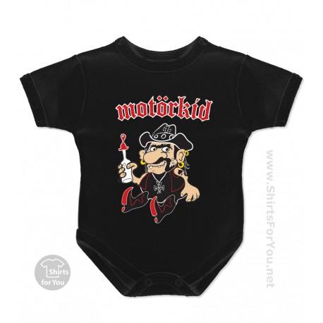 Motorkid Motorhead Future Fan Baby Onesie