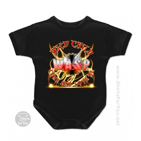 WASP Wild Child Baby Onesie