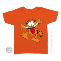 Crazy Garfield Kids T-Shirt