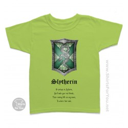 Harry Potter Slytherin Kids T-Shirt