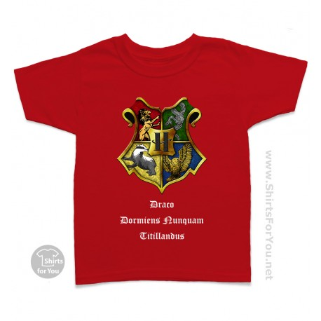 Harry Potter Hogwarts Kids T-Shirt