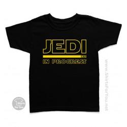 Jedi in Progress Kids T-Shirt
