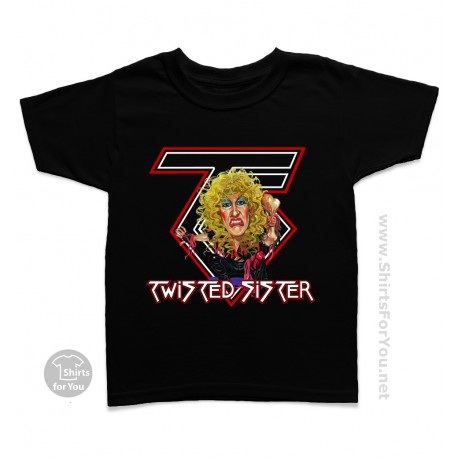 Twisted Sister Kids T Shirt
