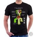 Minecraft Creeper Anatomy Unisex T-Shirt