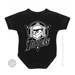 Star Wars Troopers Baby Onesie