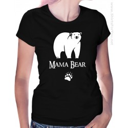Mama Bear Womens T-Shirt