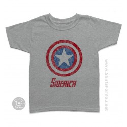 Captain America Sidekick Kids T-Shirt