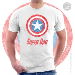Captain America Super Dad Unisex T-Shirt