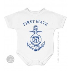 First, Second or Third Mate Baby Onesie